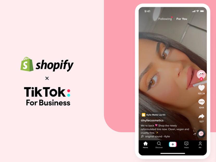 TikTok ve Shopify'dan işbirliği
