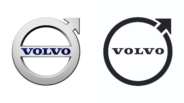 Volvo logosunu değiştiriyor