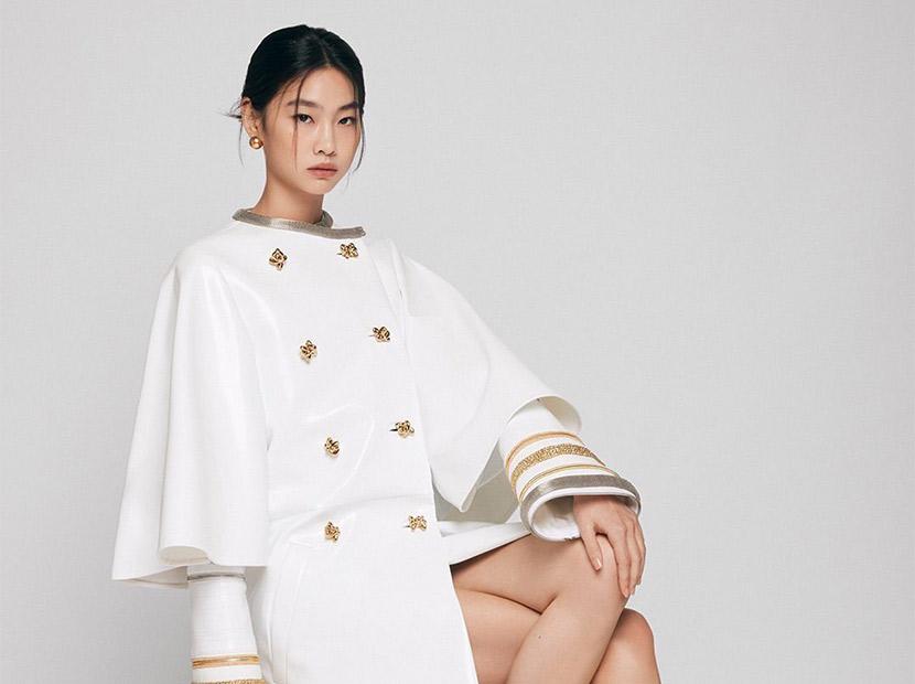 Squid Game'in yıldızı Louis Vuitton'un yeni marka elçisi